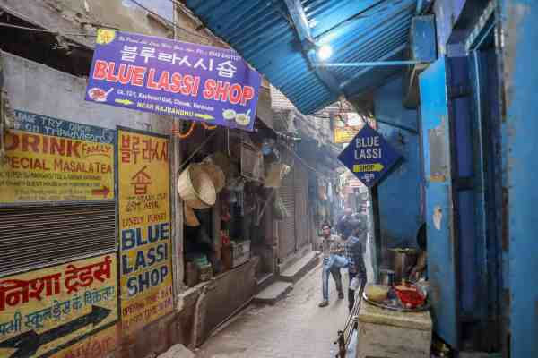 Varanasi Blue Lassi
