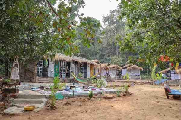 Earth Yoga Village Palolem Goa Accommodation