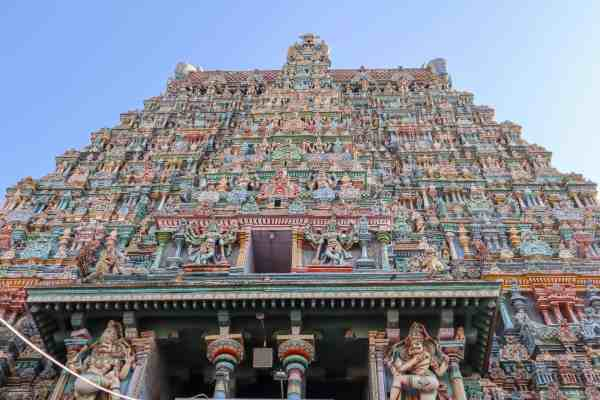 south India travel tips Sri Meenakshi Temple Madurai