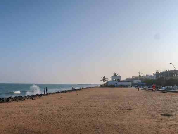 Pondicherry White Town Beach