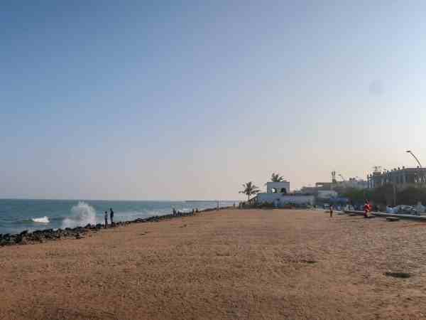 Pondicherry White Town Beach