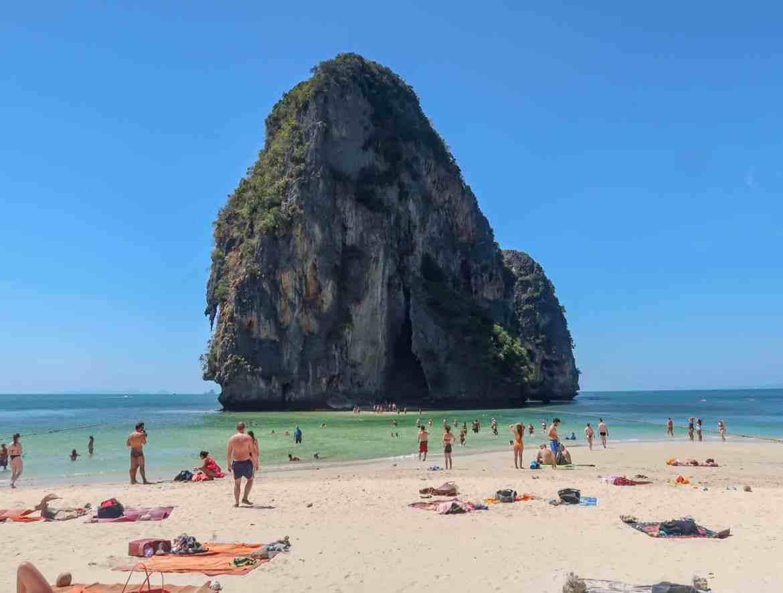 railay beach from ao nang