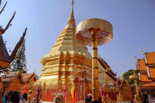 things to do in Chiang Mai doi suthep temple