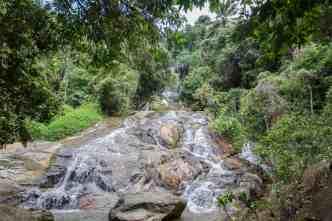 Koh Samui waterfall
