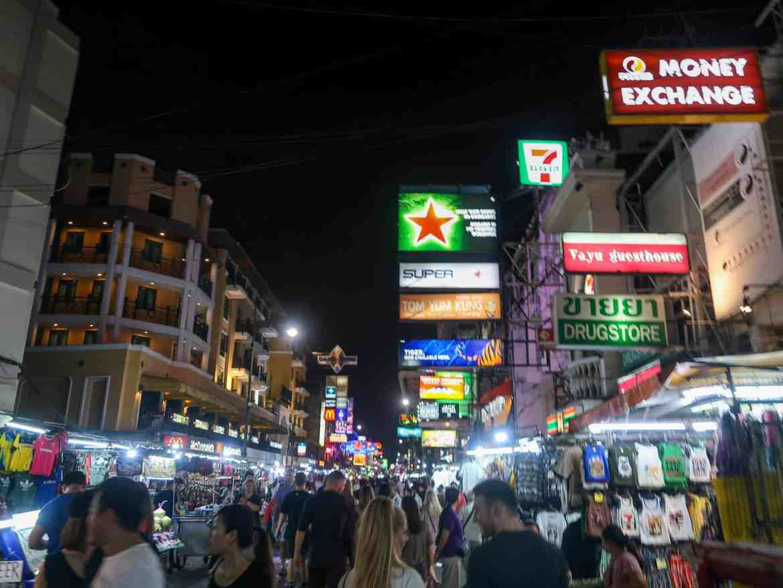 2 weeks in Thailand, khao san road