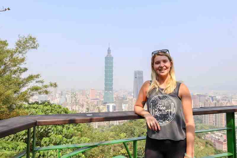 Taiwan 2 Week itinerary, Elephant mountain taipei