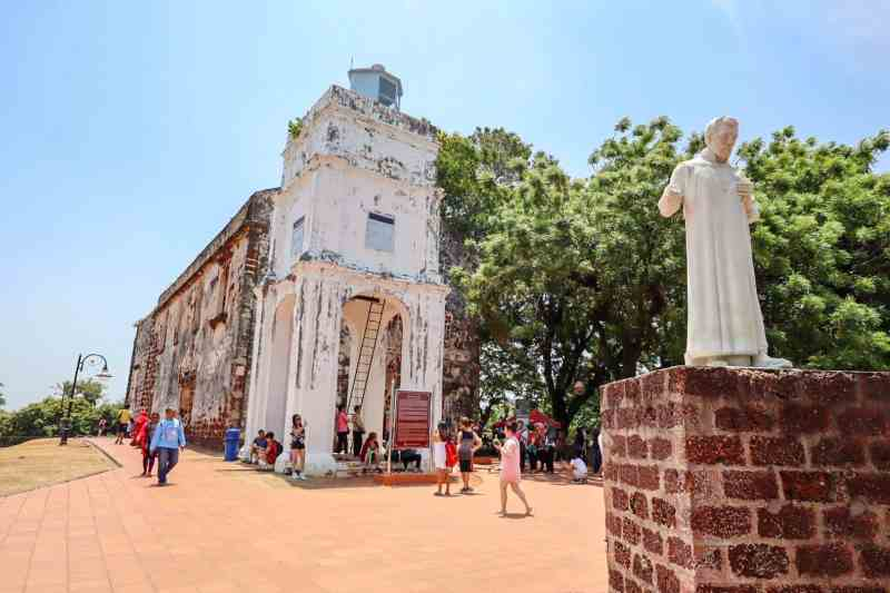 things to do in Melaka Malaysia, st pauls church