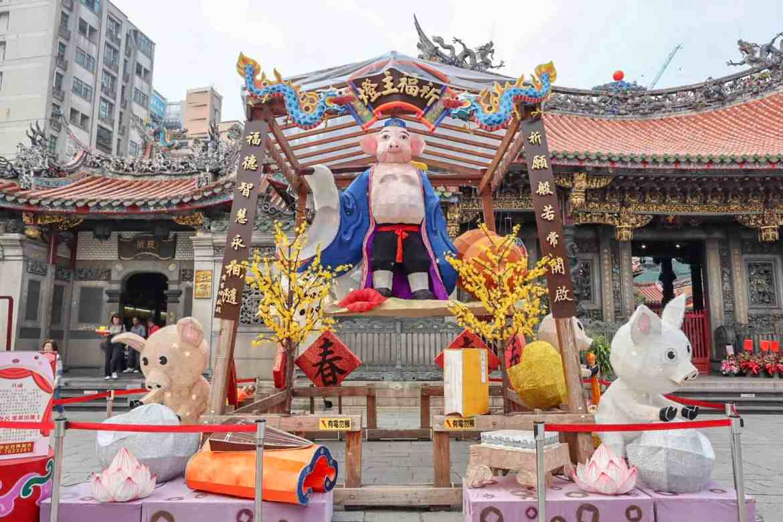 Taipei travel tips longshan temple