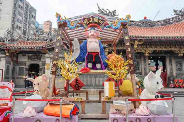 Taipei travel tips longshan temple