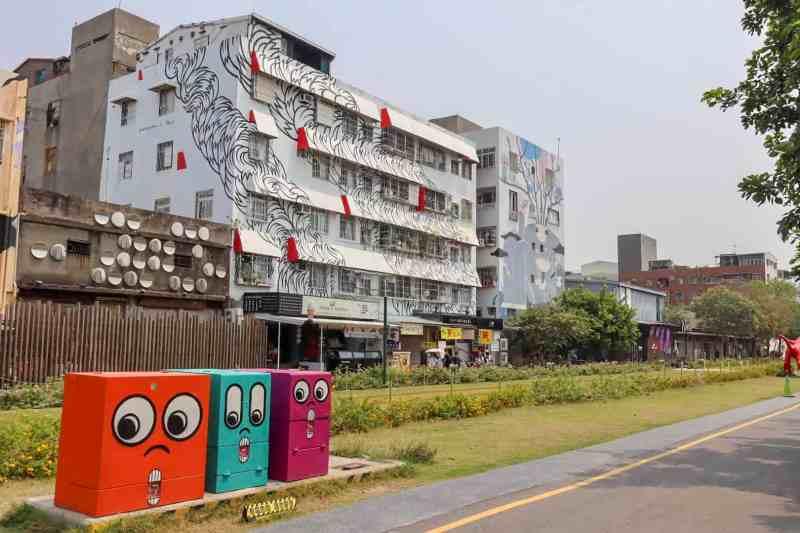 Pier 2 Arts Centre Kaohsiung Taiwan | Kaohsiung itinerary