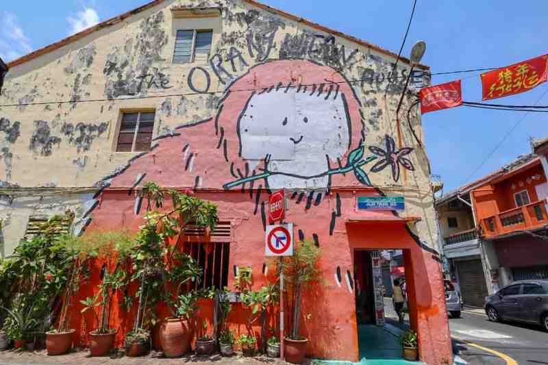 things to do in Melaka Malaysia, street art