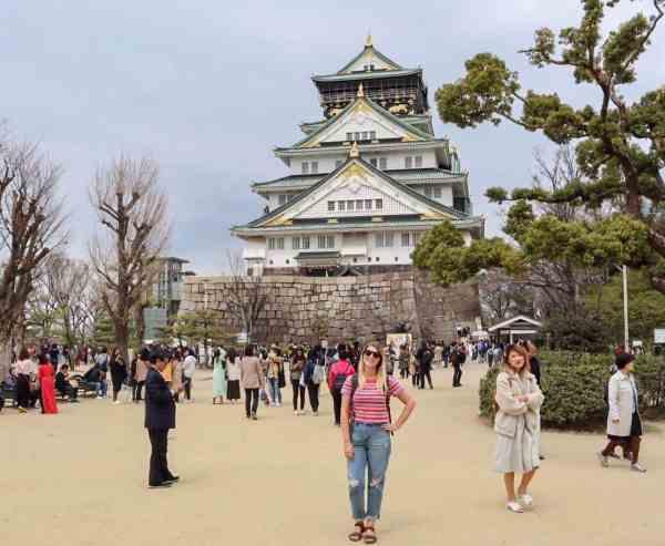 free things to do in Osaka Japan Osaka Castle