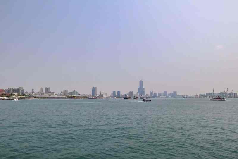 Cijin Island Kaohsiung Taiwan Ferry View