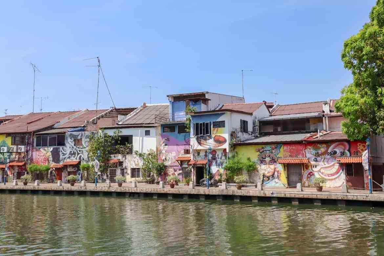 things to do in Melaka Malaysia, river walk