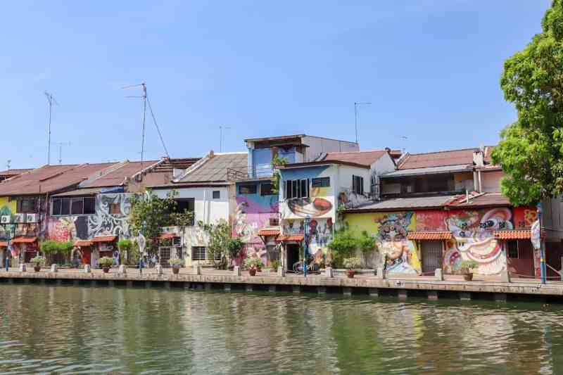 things to do in Melaka Malaysia, river walk