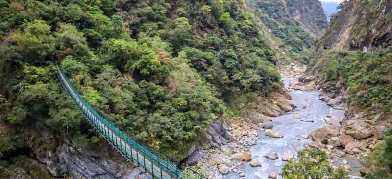 Hualien to Taroko Gorge