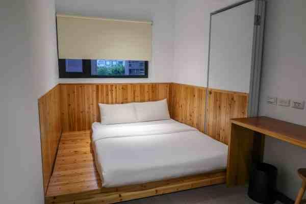 hostel costs in Taiwan