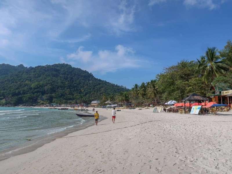 Small Perhentian Island Guide, Perhentian Kecil, long beach