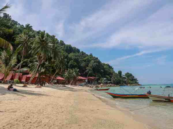Perhentian Small Kecil Island Travel Guide Coral Beach