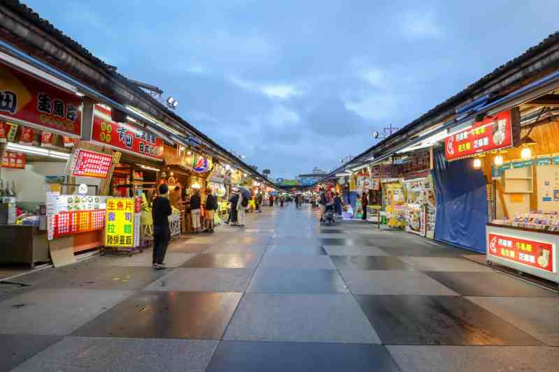 Taiwan 2 Week itinerary, Hualien Night Market