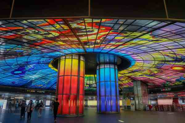 things to do in Kaohsiung taiwan Formosa Boulevard Dome of Light