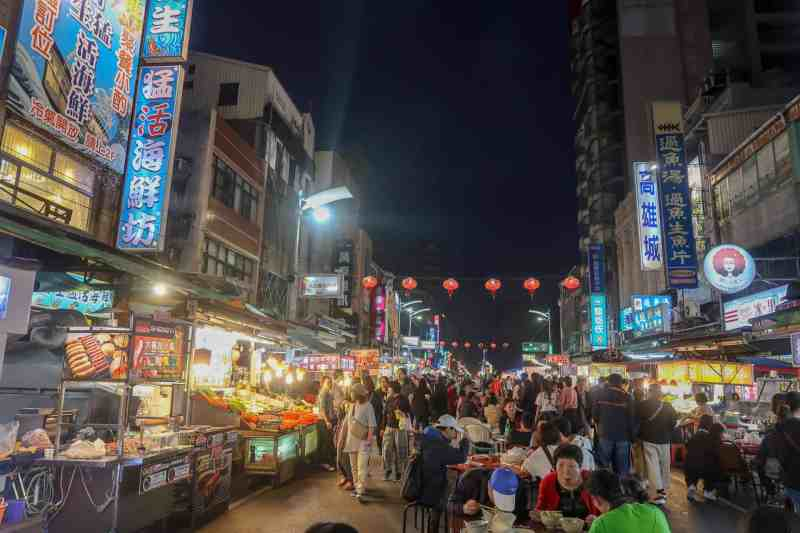 liouhe Night market Kaohsiung