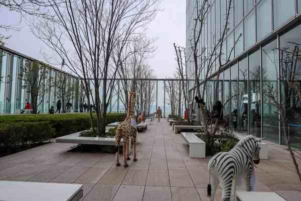 free things to do in Osaka Japan Abeno Harukas Art Museum Viewing Garden