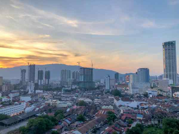 digital nomad georgetown penang accommodation airbnb