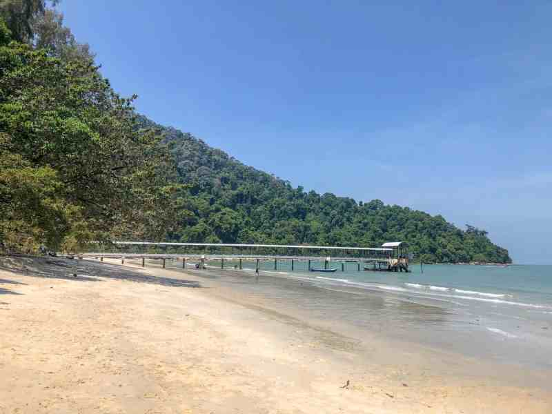 things to do in Georgetown Malaysia, Georgetown Penang national park walk beach