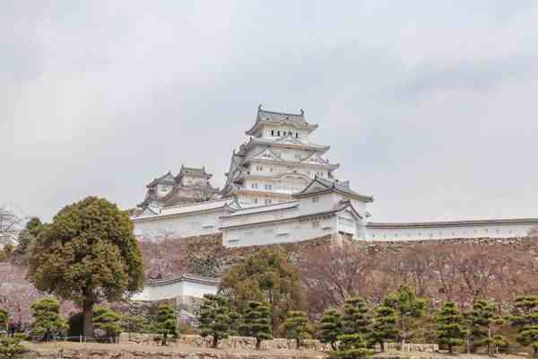 2 week japan itinerary, things to do in himeji Castle