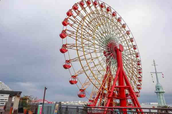 things to do in kobe ferris wheel