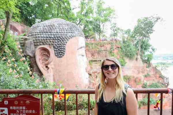 the dragon trip backpacking china tour Leshan Giant Buddha