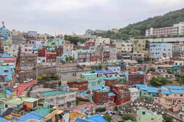 Gamcheon Culture Village in Busan view