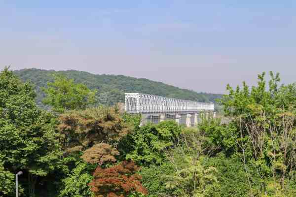 Freedom Bridge Imjingak Park - DMZ tour from Seoul