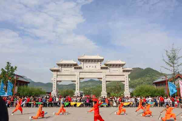 backpacking China, the dragon trip tour Kung Fu in Shaolin