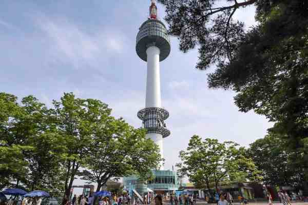 free things to do in Seoul - Namsan Park Seoul Tower