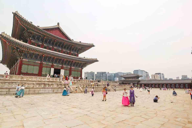 South Korea itinerary, Gyeongbokgung Palace Seoul