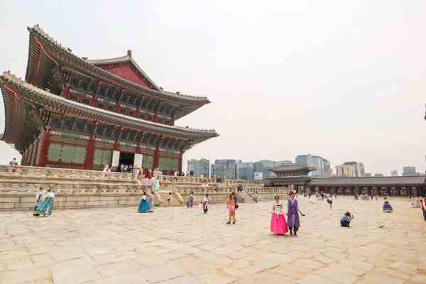 free things to do in Seoul -Gyeongbokgung Palace Seoul