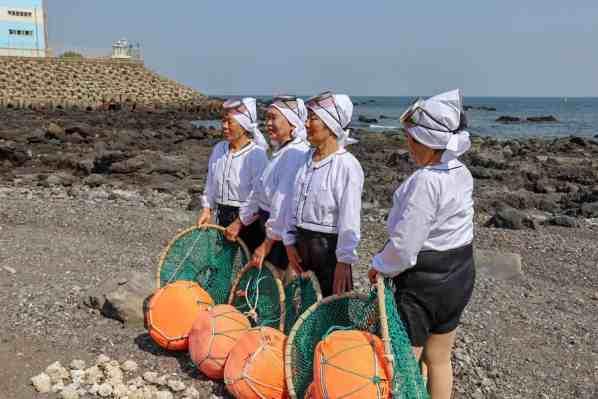 jeju island women divers