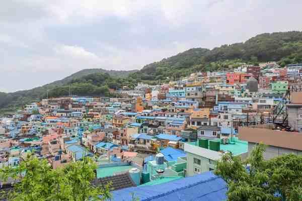 Gamcheon Culture Village in Busan best view