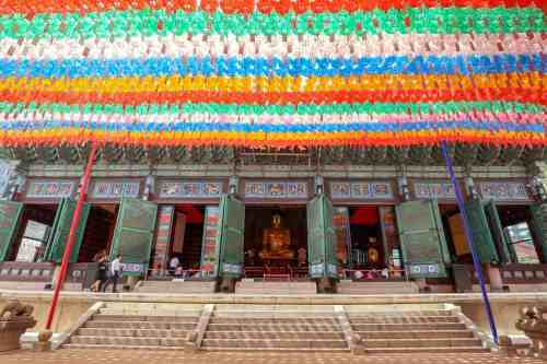 Jogyesa Temple Soeul