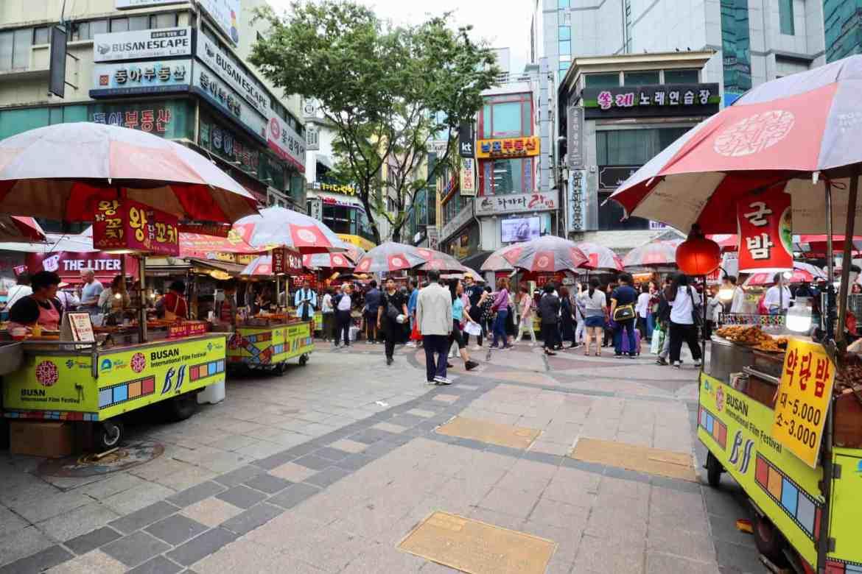 day south korea itinerary, BIFF Square Busan