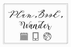 plan book wander - trip planning service