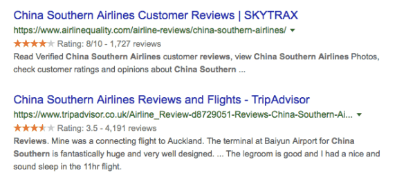 Southern China Airlines Review Tripadvisor