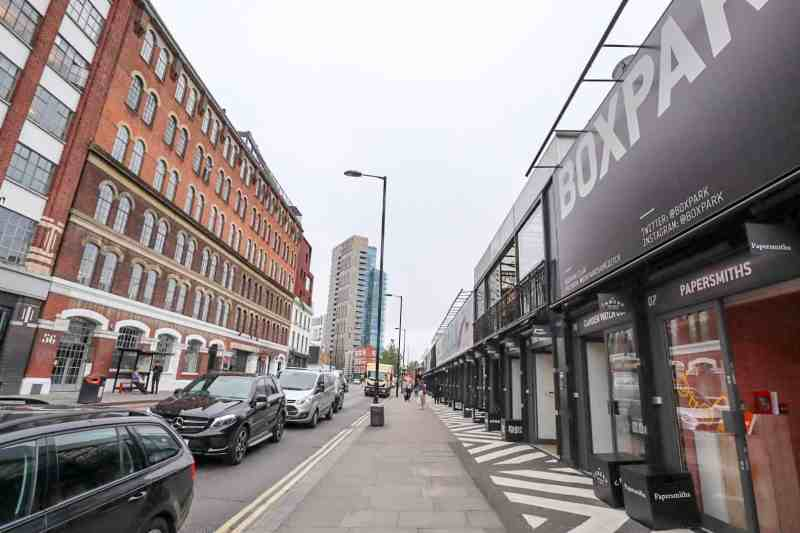 places to go in Shoreditch, Shoreditch Boxpark Shoreditch