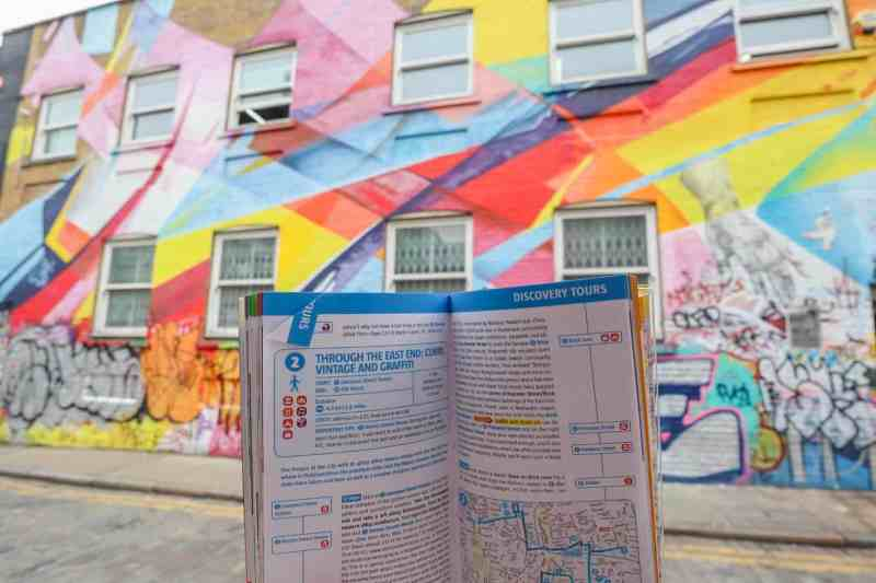 places to visit in Shoreditch Chance Street Street Art with London Marco Polo Guide