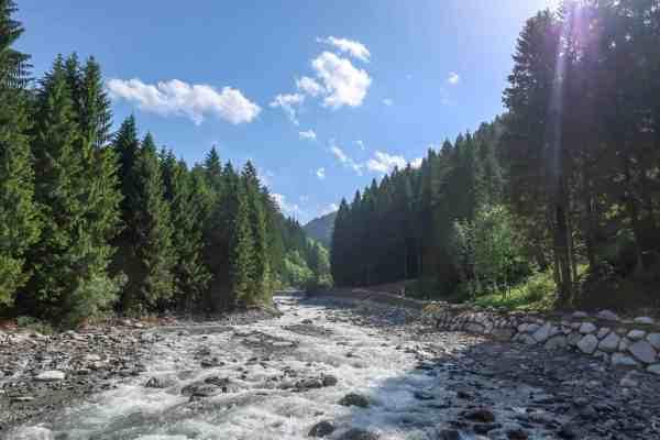 San Vili Pathway Trek Trentino Italy Sarca River