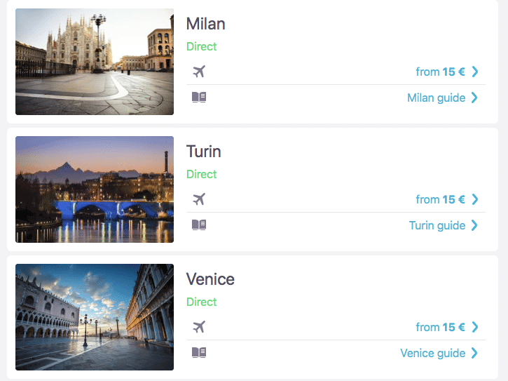 cheap flights to italy sky scanner