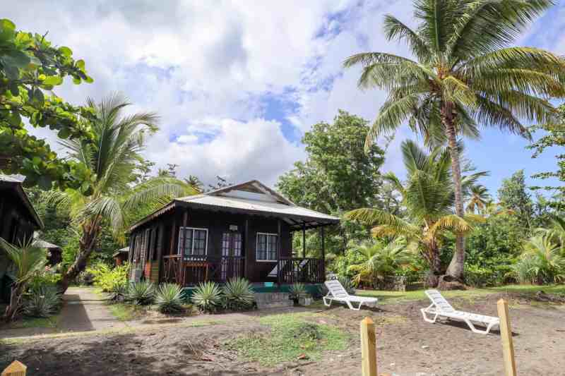 Dominica travel guide, picard beach cottages dominica