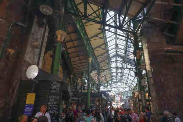 inside borough food market
